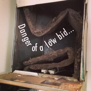 low bid air conditioner estimate