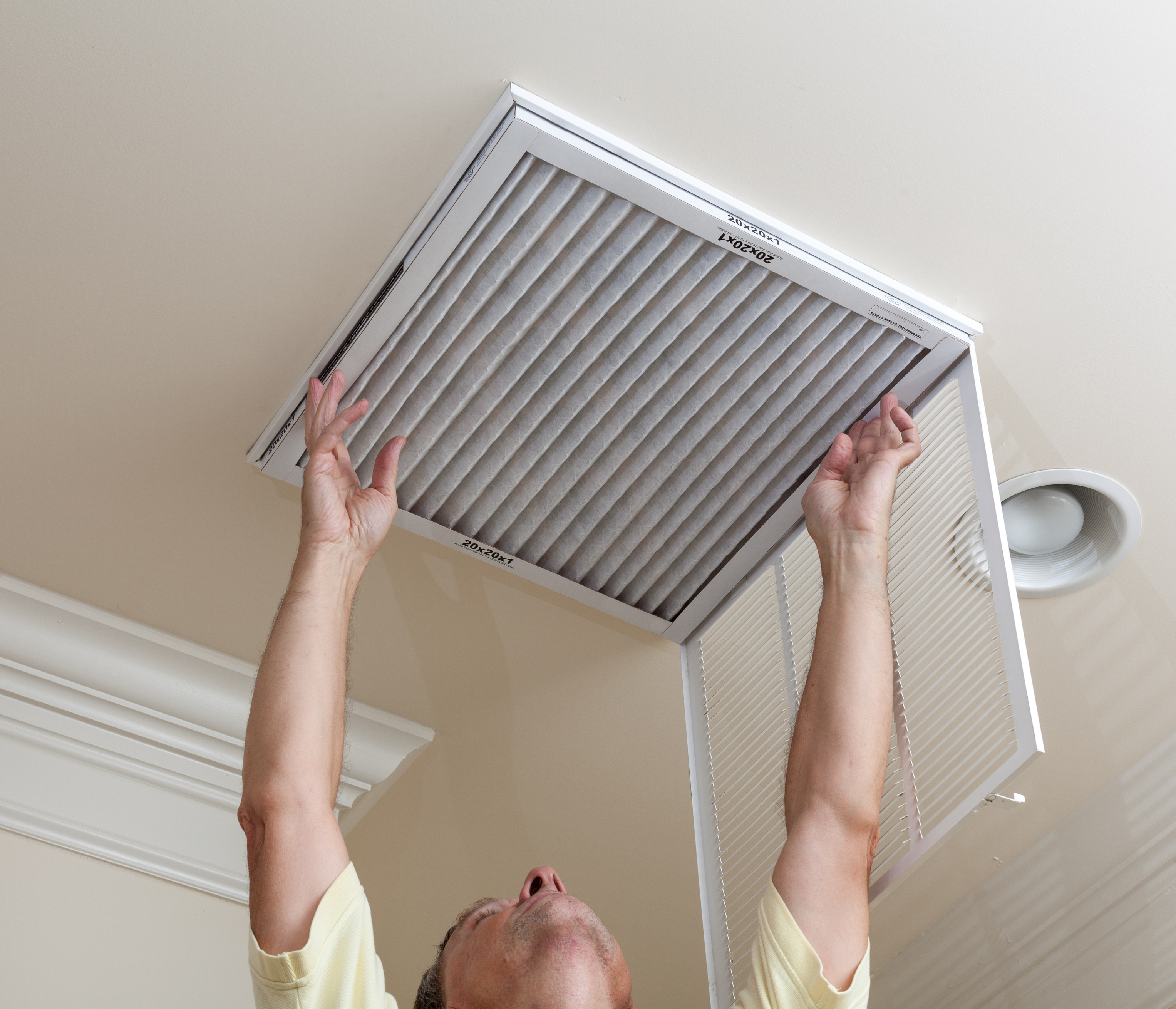 Maintenance of ceiling air conditioners 18