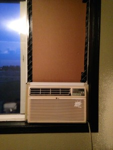 Unsightly Window Air Conditioner