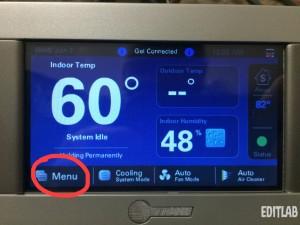trane 824 thermostat